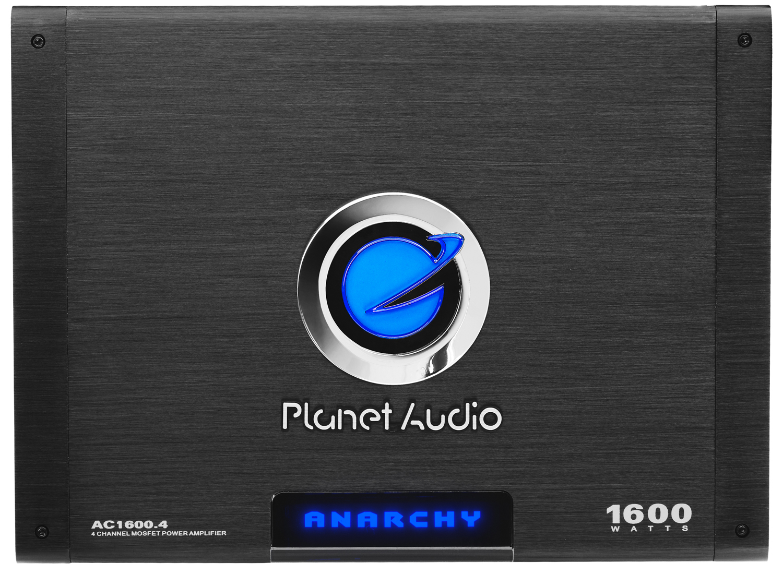 Planet Audio PL1600.4 4-Channel 1600 Watts 2400W Power Car Amplifier w// Remote